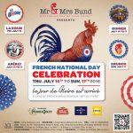 Mr & Mrs Bund Shanghai, French National Day Celebration Campaign, Key visual, Design by François Soulignac, VOL Group China