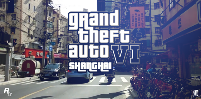 GTA 6 in Shanghai, China - Video by Francois Soulignac